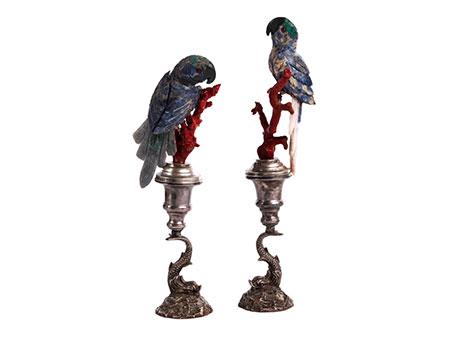 Paar Papageien