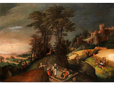 Abel Grimmer, um 1570 Antwerpen – 1620, zug./ Art des