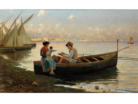 Guilio Amodio, 1868 - um 1899