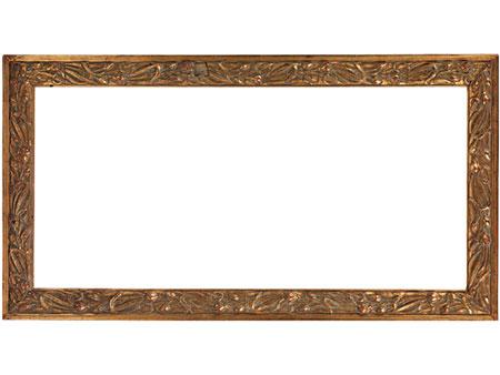 Vergoldeter Jugendstil-Rahmen