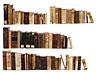 Detailabbildung:  Eine Sammlung Bücher des 16. - 19. Jahrhunderts