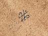 Detail images:  Runde Porzellanplatte wohl eines Salontischchens