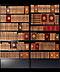 Detailabbildung: † Eine hochdekorative Bibliothek des 18. Jahrhunderts mit 656 Bänden