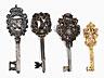 Detail images: Konvolut von vier Schlüsseln