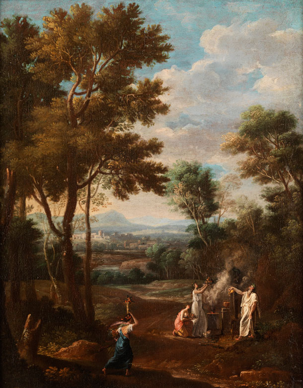 Étienne Allegrain, 1644 – 1736 Paris, zug.