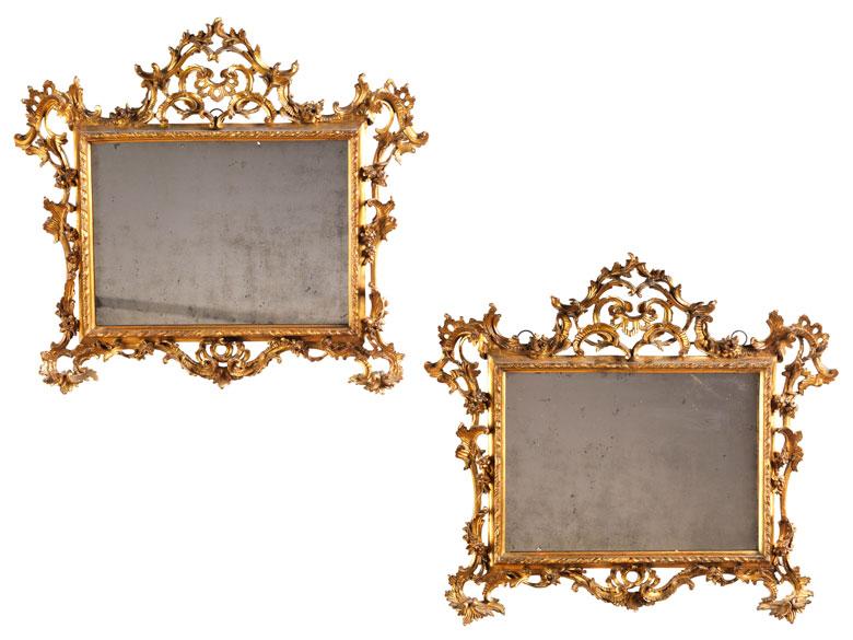 Paar Spiegel