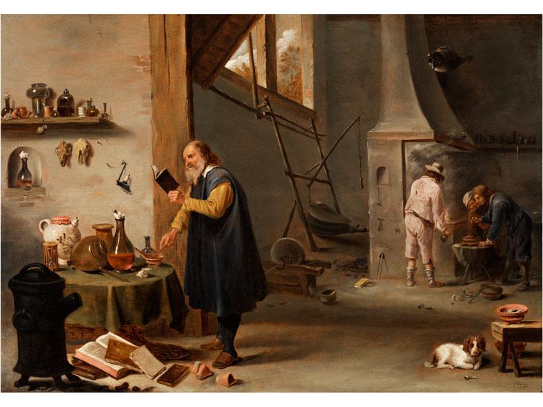 Cornelis Mahu, 1613 Antwerpen – 1689 ebenda, zug.