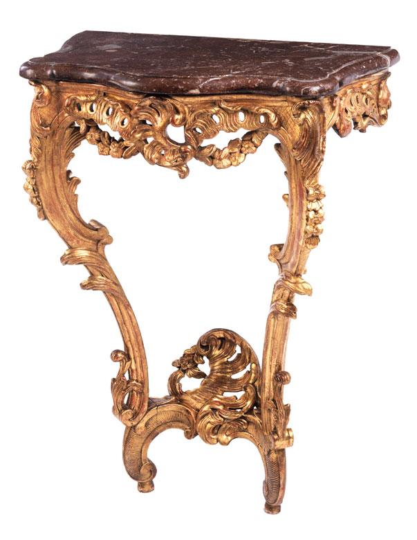 Kleine Louis XV-Konsole