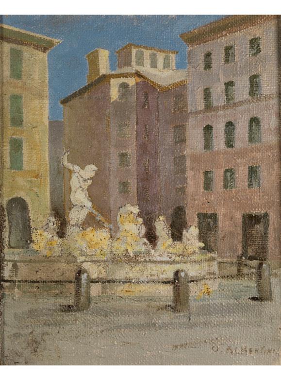 Oreste Albertini, 1887 Torre del Magnano – 1953 Besano, Varese