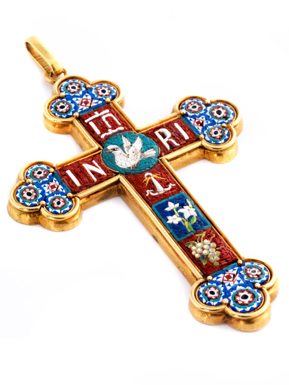 Antiker Kreuzanhänger