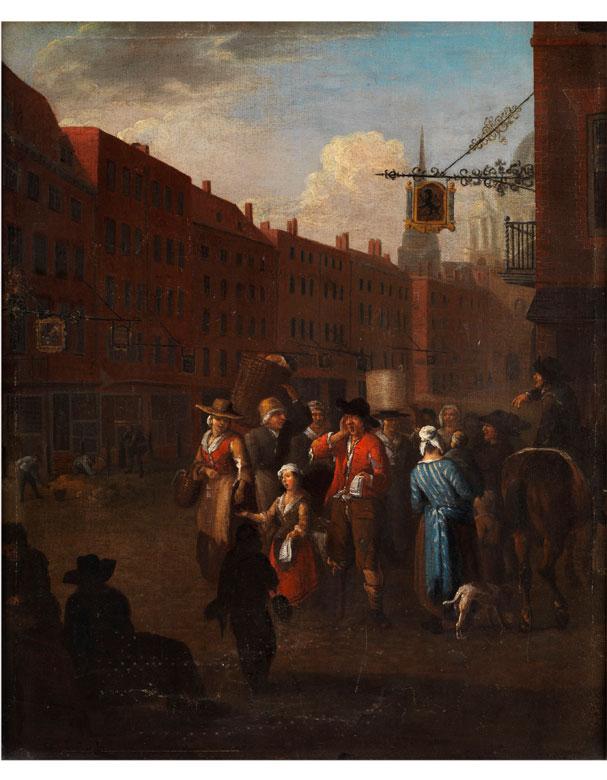 Peter Angellis, 1685 Dünkirchen – 1734 Rennes, zug.