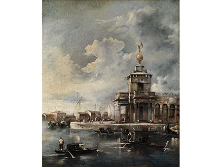 Francesco Guardi, 1712 Venedig – 1793, zug.