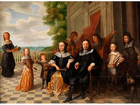 Gonzales Coques,  1618 Antwerpen – 1684 Antwerpen, zug.