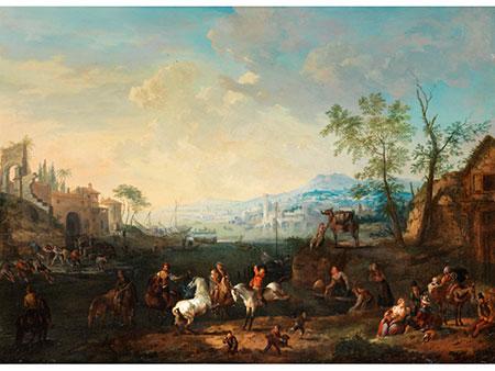 Jan Peter van Bredael, 1654 Antwerpen – 1745 Antwerpen