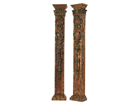 Paar Pilaster