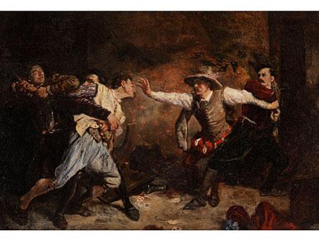 Jean-Louis-Ernest Meissonier, 1815 Lyon – 1891 Paris, zug.