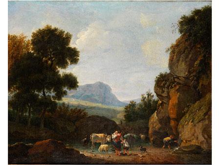 Francesco Zuccarelli, Pitigliano/ Toskana – Florenz, Art des Schüler von...