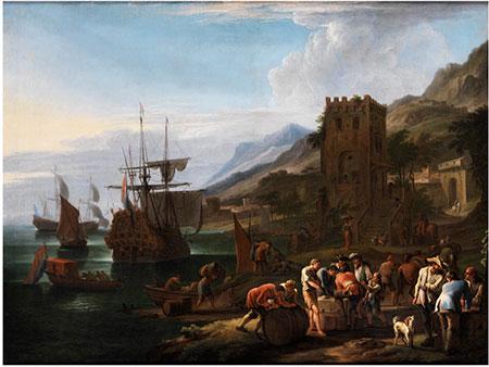 Luca Carlevaris,  1663 Udine – 1729 Venedig