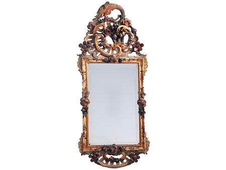 Prächtiger Rokoko-Spiegel