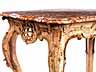 Detail images:  Gefasste Rokoko-Konsole