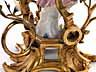 Detail images: Paar Tischleuchter in vergoldeter Bronze und Porzellan