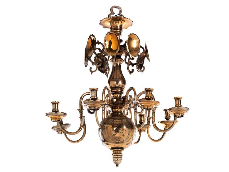 messing h ngeleuchter hampel fine art auctions. Black Bedroom Furniture Sets. Home Design Ideas