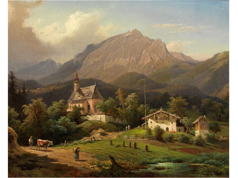 Franz Reinhold, 1816 – 1893
