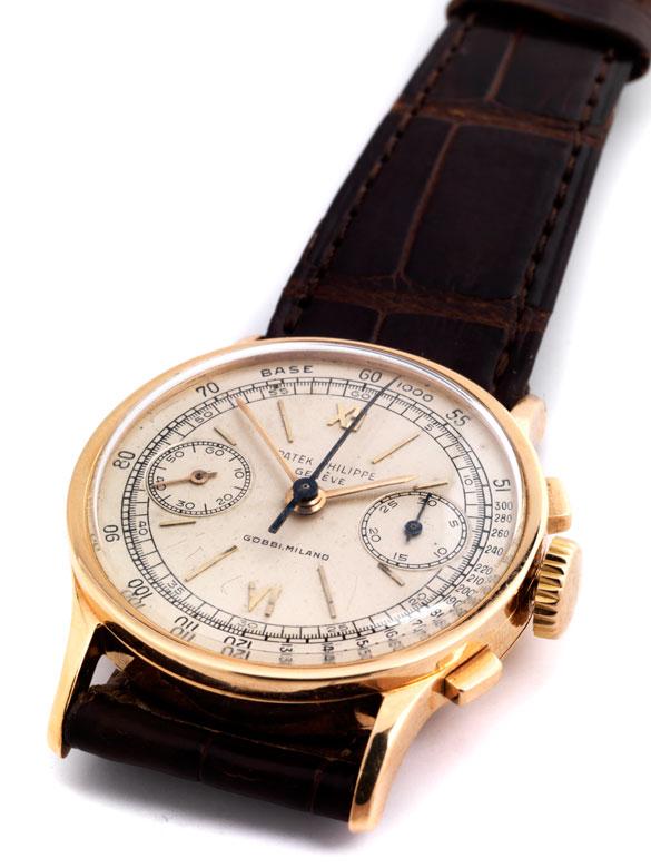 Seltener, rotgoldener PATEK PHILIPPE Chronograph, Referenz 533