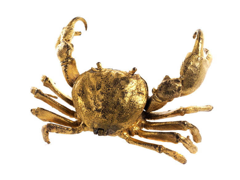 Kleine Dose in Form einer Krabbe im Stil des 16. Jahrhunderts