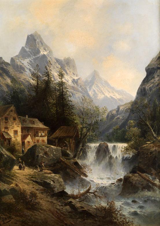 Karl Kaufmann, 1843 Neuplachowitz – 1905 Wien