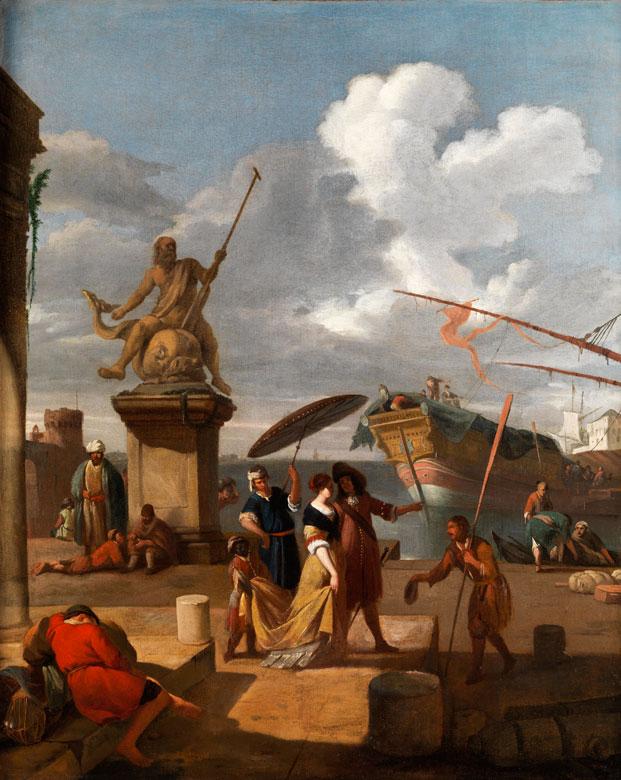 Johannes Lingelbach, 1622 Frankfurt am Main – 1674 Amsterdam