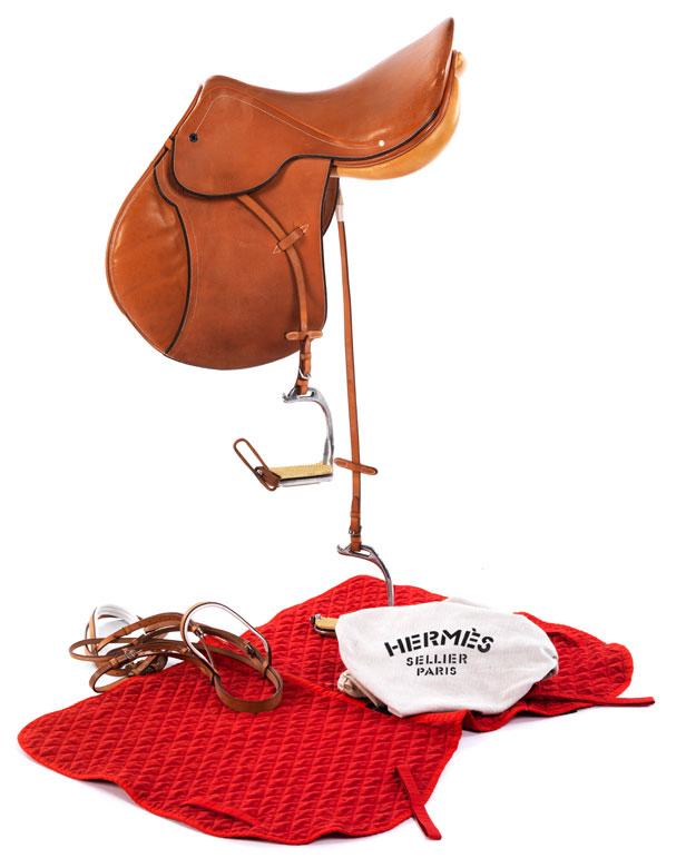 Hermès Sattel Polo