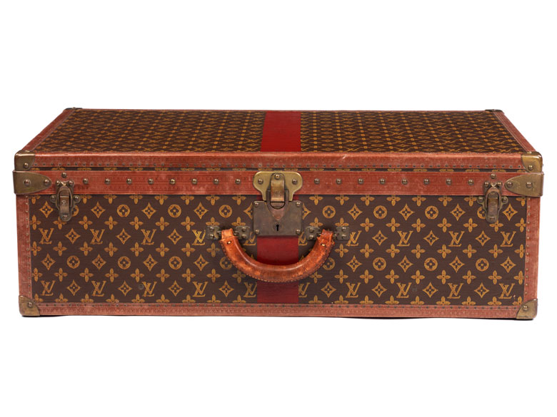 Alter Louis Vuitton Koffer louis vuitton koffer alzer 80 anglais hel auctions