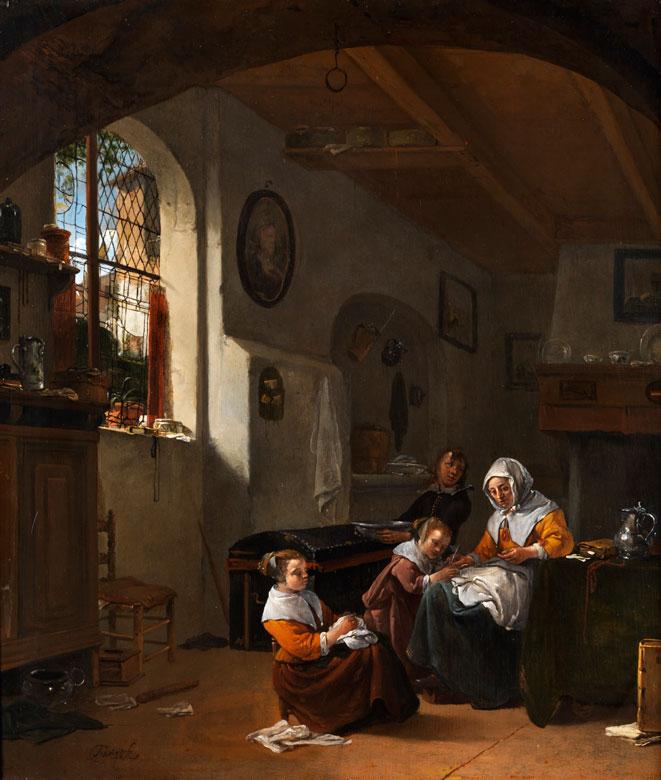 Thomas Wijck, 1616 Beverwijk – 1677 Haarlem