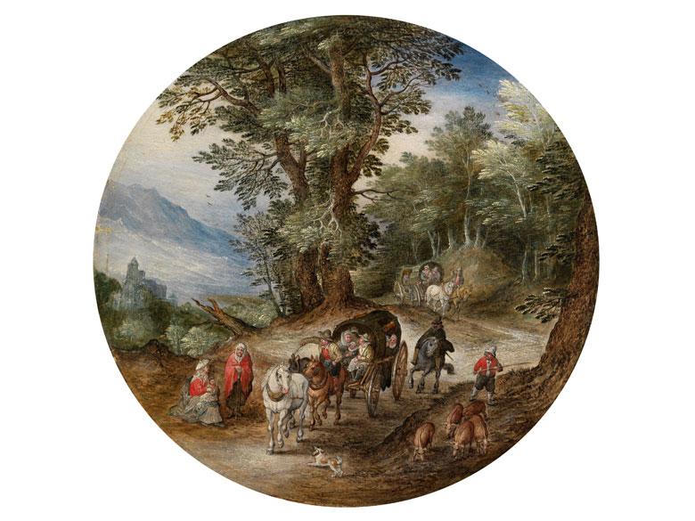 Jan Brueghel d. Ä., 1568 Brüssel – 1625 Antwerpen