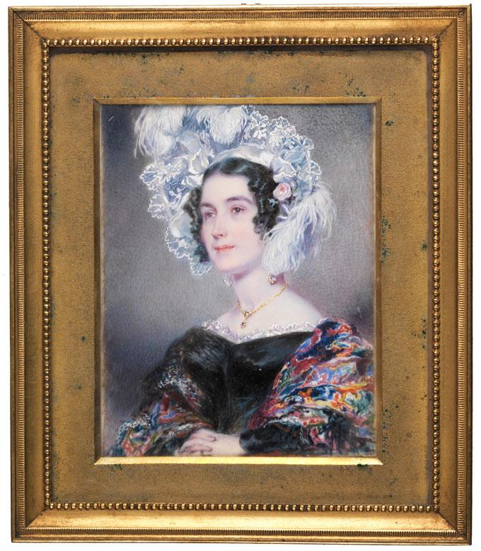 Simon Jacques Rochaud, französischer Maler des 19. Jahrhunderts