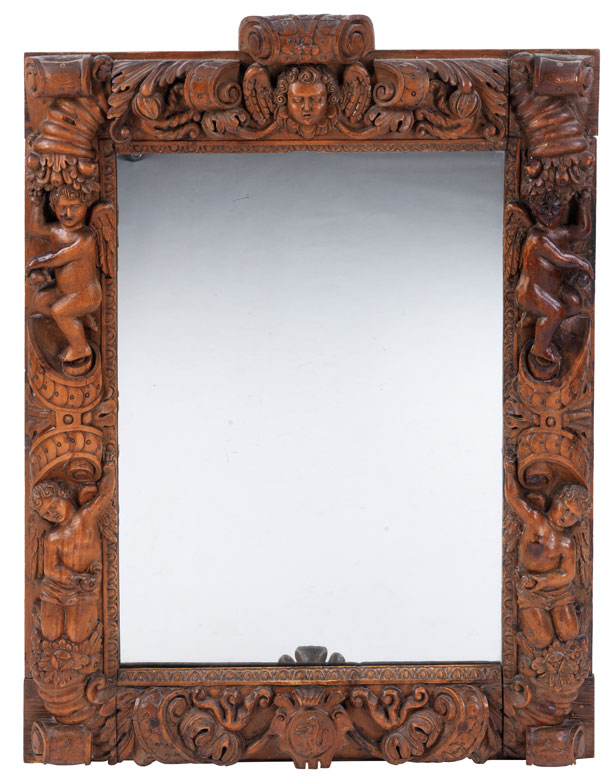 Großer Spiegel im frühbarocken Stil