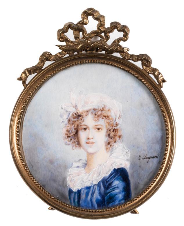 J. Legrand, Miniaturist des 19. Jahrhunderts