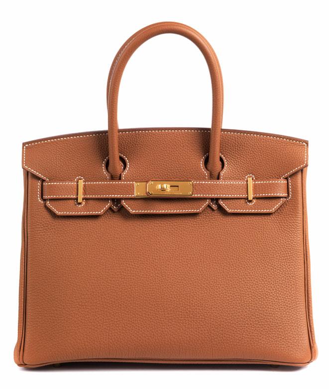 Hermès Birkin Bag 30 cm Gold