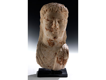 Römische Marmorbüste eines Mannes