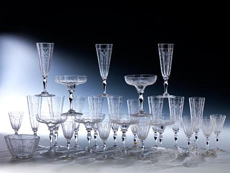 Konvolut Gläser von Lobmeyr
