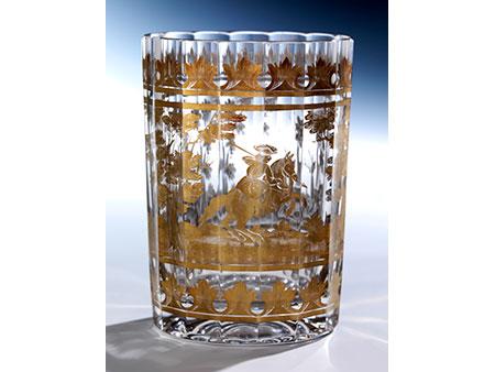 Jagdliches Glas