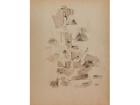Französischer Künstler des Kubismus