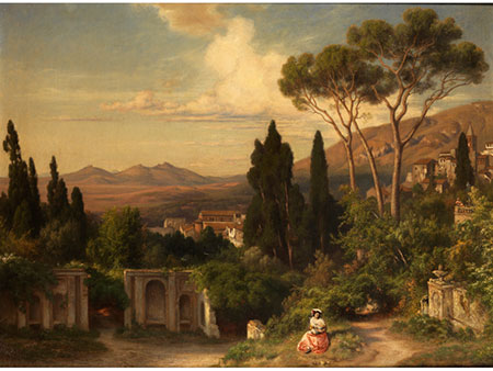 Bernhard Fries,  1820 Heidelberg – 1879 München