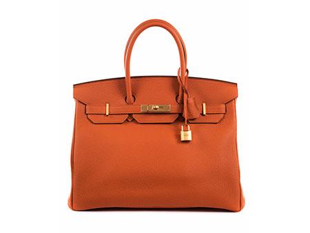 Hermès Birkin Bag 35 cm Orange