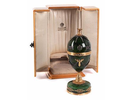 Eieruhr in der Art von Fabergé