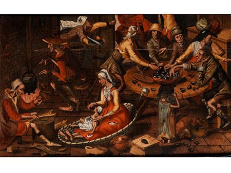 Marten van Cleve, 1527 Antwerpen – 1581, Kreis des