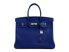 Hermès Birkin Bag 35 cm Electric Blue