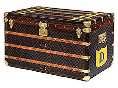 "Louis Vuitton ""Steamer Trunk"""