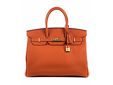 Hermès Birkin Bag 35 cm Orange
